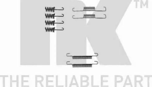 NK 7947774 - Piederumu komplekts, Stāvbremzes mehānisma bremžu loks autodraugiem.lv