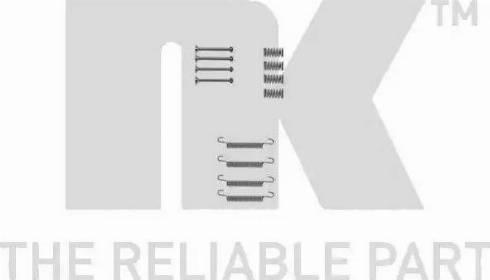 NK 7936667 - Piederumu komplekts, Stāvbremzes mehānisma bremžu loks autodraugiem.lv
