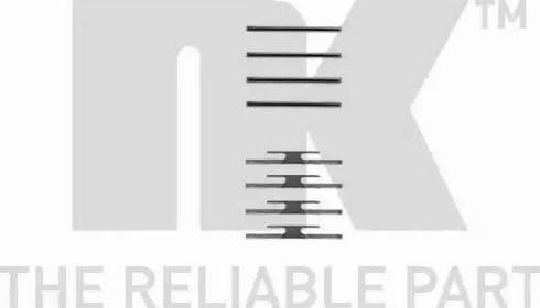 NK 7936012 - Piederumu komplekts, Disku bremžu uzlikas autodraugiem.lv