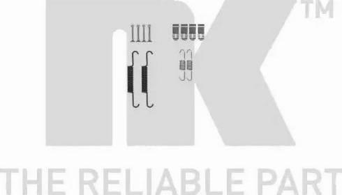 NK 7936881 - Piederumu komplekts, Stāvbremzes mehānisma bremžu loks autodraugiem.lv