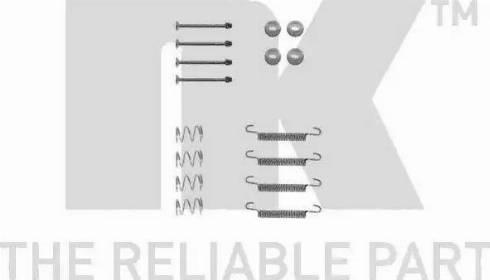 NK 7936711 - Piederumu komplekts, Stāvbremzes mehānisma bremžu loks autodraugiem.lv