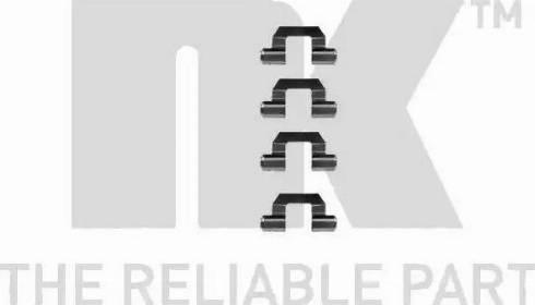 NK 7930077 - Piederumu komplekts, Disku bremžu uzlikas autodraugiem.lv