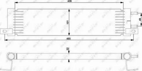 NRF 31359 - Degvielas radiators autodraugiem.lv