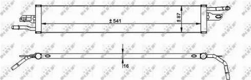NRF 31744 - Degvielas radiators autodraugiem.lv
