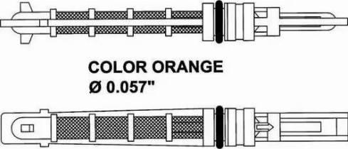 NRF 38449 - Izplešanās vārsts, Gaisa kond. sistēma autodraugiem.lv