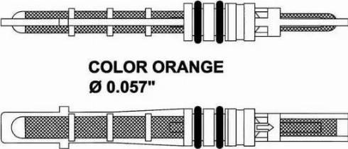 NRF 38209 - Izplešanās vārsts, Gaisa kond. sistēma autodraugiem.lv
