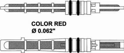 NRF 38208 - Izplešanās vārsts, Gaisa kond. sistēma autodraugiem.lv