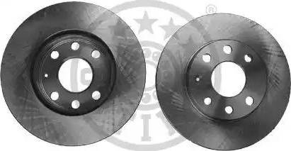 Optimal BS-0610 - Bremžu diski autodraugiem.lv