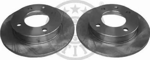 Optimal BS-0190 - Bremžu diski autodraugiem.lv