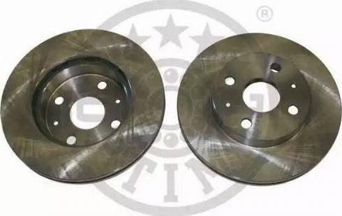 Optimal BS-1160 - Bremžu diski autodraugiem.lv