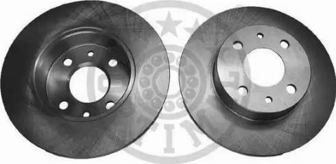 Optimal BS-1110 - Bremžu diski autodraugiem.lv