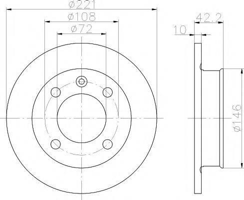 Pagid 51005 - Bremžu diski autodraugiem.lv