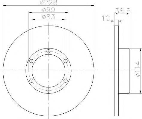 Pagid 52801 - Bremžu diski autodraugiem.lv