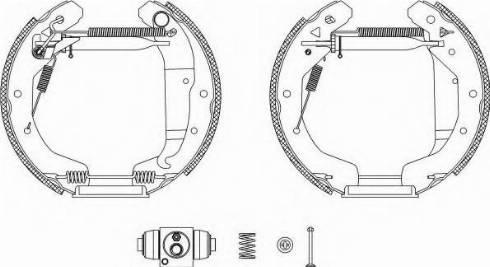 Pagid R1295 - Bremžu komplekts, trumuļa bremzes autodraugiem.lv