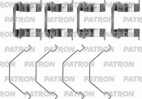 Patron PSRK1012 - Piederumu komplekts, Disku bremžu uzlikas autodraugiem.lv