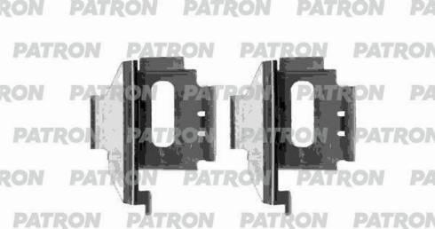 Patron PSRK1118 - Piederumu komplekts, Disku bremžu uzlikas autodraugiem.lv