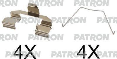 Patron PSRK1245 - Piederumu komplekts, Disku bremžu uzlikas autodraugiem.lv