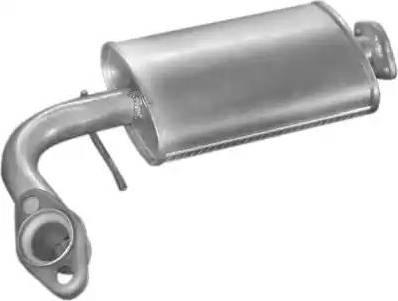 POLMO 20.05 - Izplūdes gāzu priekšslāpētājs autodraugiem.lv
