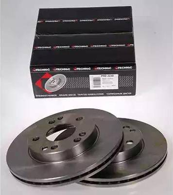 Protechnic PRD2238 - Bremžu diski autodraugiem.lv