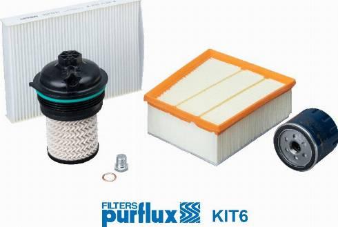 Purflux KIT6 - Filtrs-Komplekts autodraugiem.lv