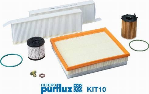 Purflux KIT10 - Filtrs-Komplekts autodraugiem.lv
