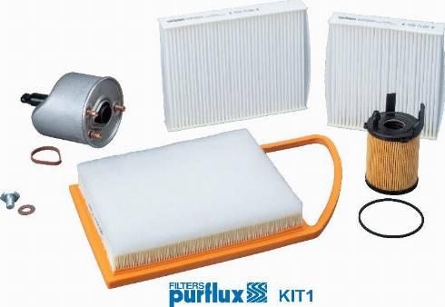 Purflux KIT1 - Filtrs-Komplekts autodraugiem.lv