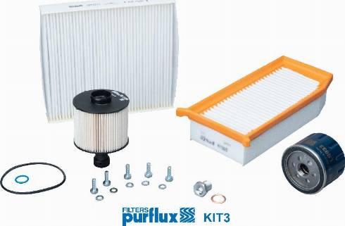 Purflux KIT3 - Filtrs-Komplekts autodraugiem.lv