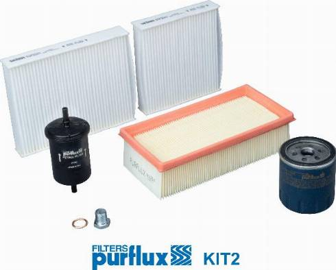 Purflux KIT2 - Filtrs-Komplekts autodraugiem.lv