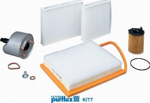 Purflux KIT7 - Filtrs-Komplekts autodraugiem.lv