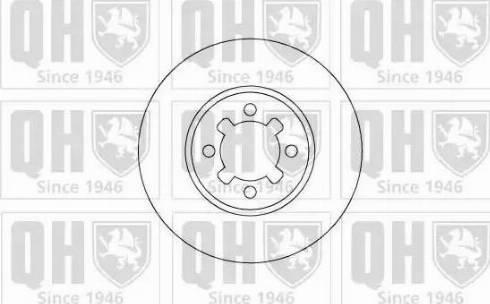 Quinton Hazell BDC4643 - Bremžu diski autodraugiem.lv
