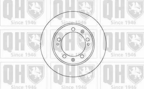 Quinton Hazell BDC4148 - Bremžu diski autodraugiem.lv