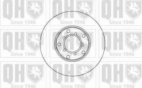 Quinton Hazell BDC1058 - Bremžu diski autodraugiem.lv