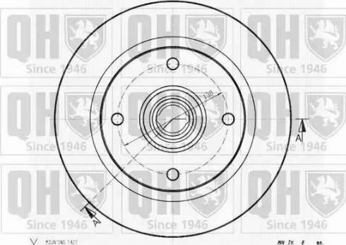Quinton Hazell BDC1029 - Bremžu diski autodraugiem.lv
