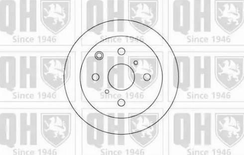 Quinton Hazell BDC3904 - Bremžu diski autodraugiem.lv