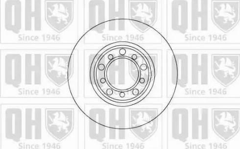 Quinton Hazell BDC3532 - Bremžu diski autodraugiem.lv