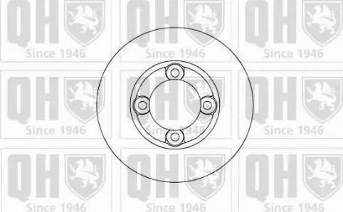 Quinton Hazell BDC3656 - Bremžu diski autodraugiem.lv