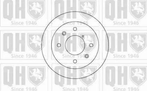 Quinton Hazell BDC3664 - Bremžu diski autodraugiem.lv