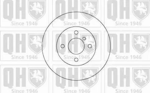 Quinton Hazell BDC3126 - Bremžu diski autodraugiem.lv