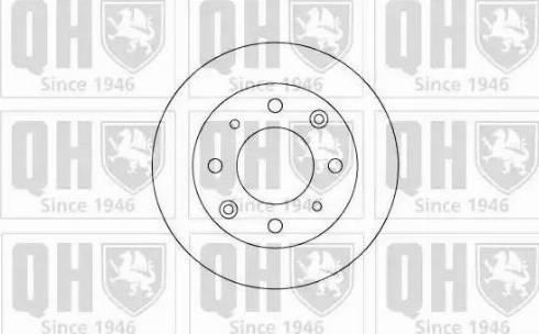 Quinton Hazell BDC3384 - Bremžu diski autodraugiem.lv