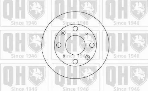 Quinton Hazell BDC3385 - Bremžu diski autodraugiem.lv