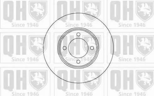 Quinton Hazell BDC3337 - Bremžu diski autodraugiem.lv
