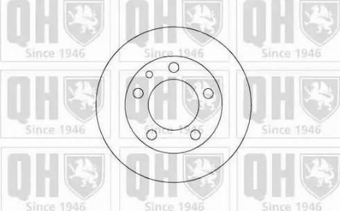 Quinton Hazell BDC3290 - Bremžu diski autodraugiem.lv