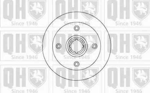 Quinton Hazell BDC3258 - Bremžu diski autodraugiem.lv