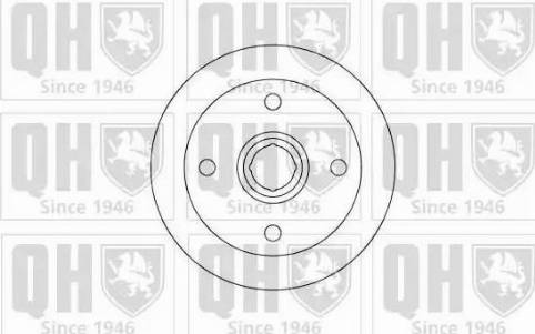 Quinton Hazell BDC3260 - Bremžu diski autodraugiem.lv