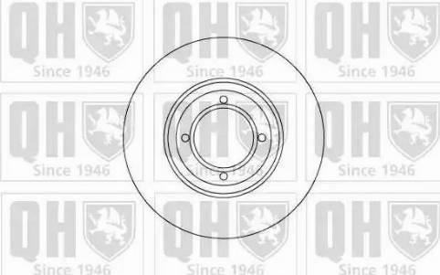 Quinton Hazell BDC3284 - Bremžu diski autodraugiem.lv