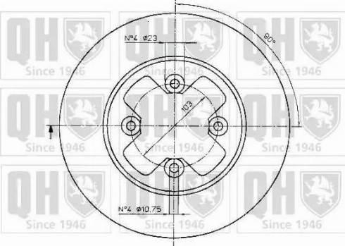 Quinton Hazell BDC3719 - Bremžu diski autodraugiem.lv