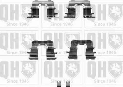 Quinton Hazell BFK917 - Piederumu komplekts, Disku bremžu uzlikas autodraugiem.lv