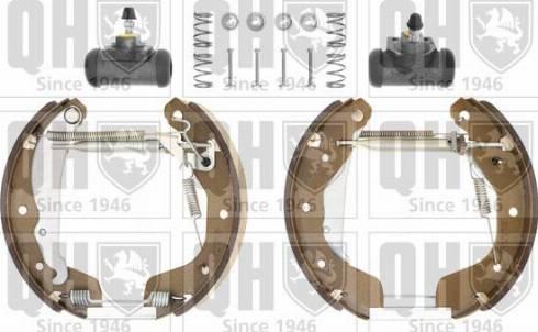 Quinton Hazell BS840K3 - Bremžu komplekts, trumuļa bremzes autodraugiem.lv