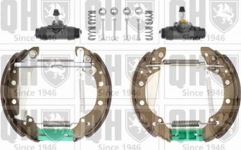 Quinton Hazell BS836K12 - Bremžu komplekts, trumuļa bremzes autodraugiem.lv