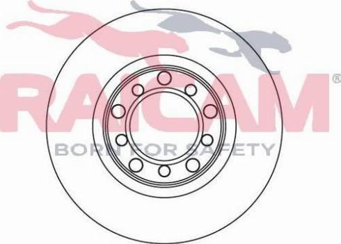 Raicam RD00424 - Bremžu diski autodraugiem.lv